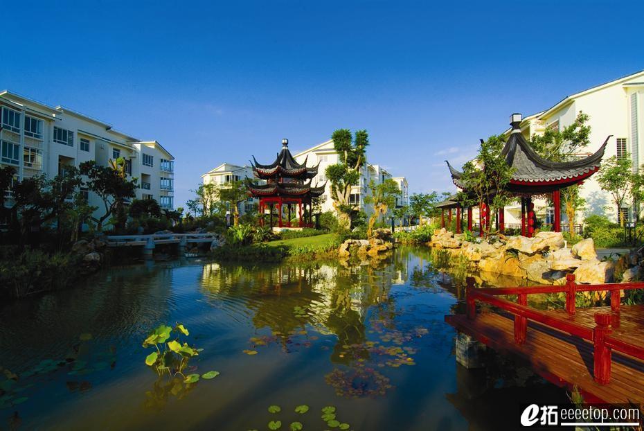 苏式园林建筑与现代主义之间的平衡-----宝安江南城