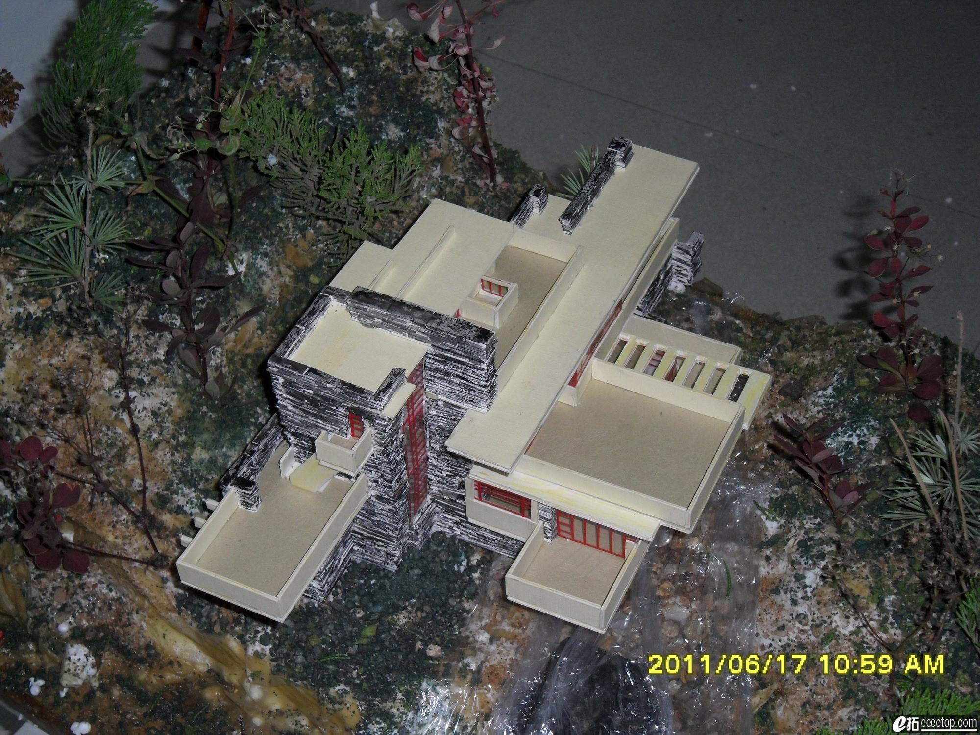 大师作品分析之流水手工(图纸分析与别墅模型图纸切当前UG没有剖图片