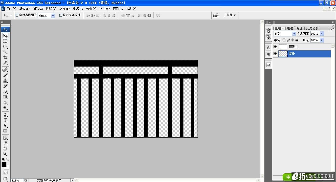 如果你要做全透明材质贴图(类似栏杆贴图那种效果)