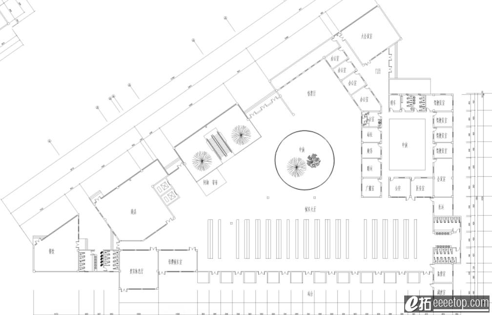 大三长途汽车站设计