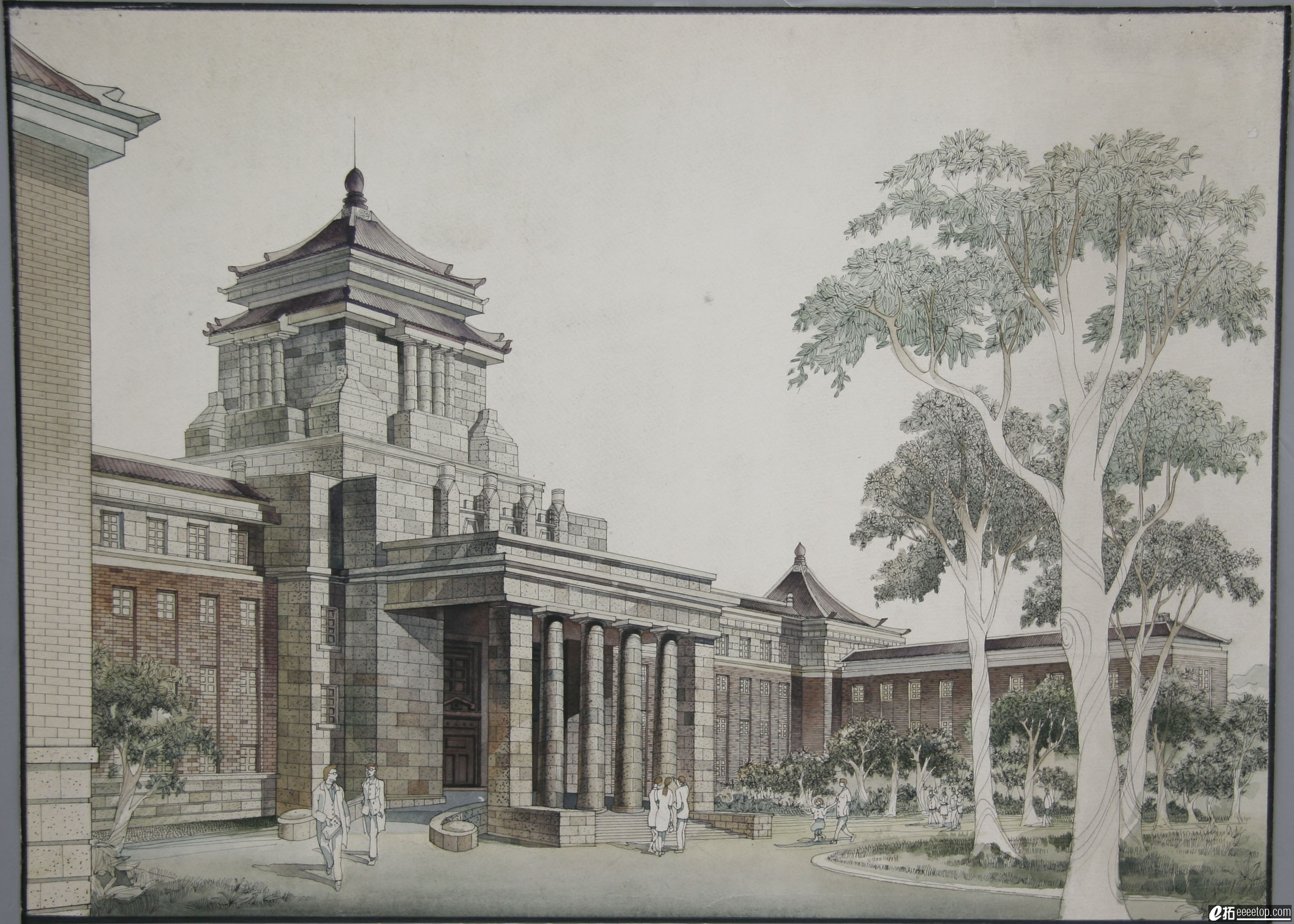 2006中国手绘建筑画大赛