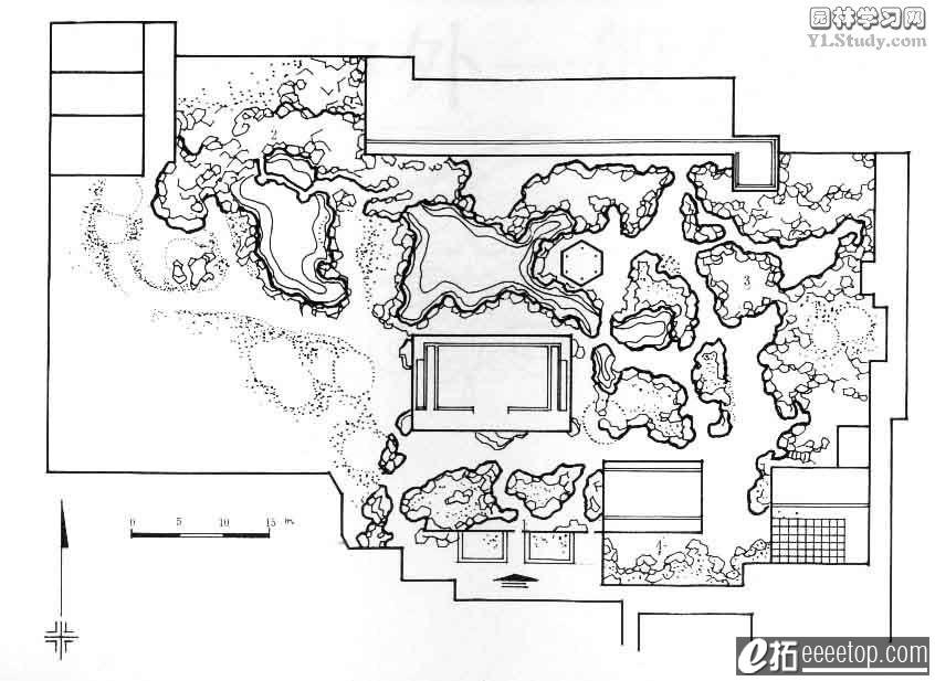 国内外知名古典园林平面图