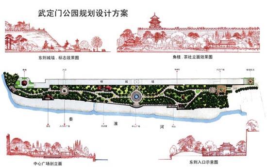经典园林景观规划设计平面图