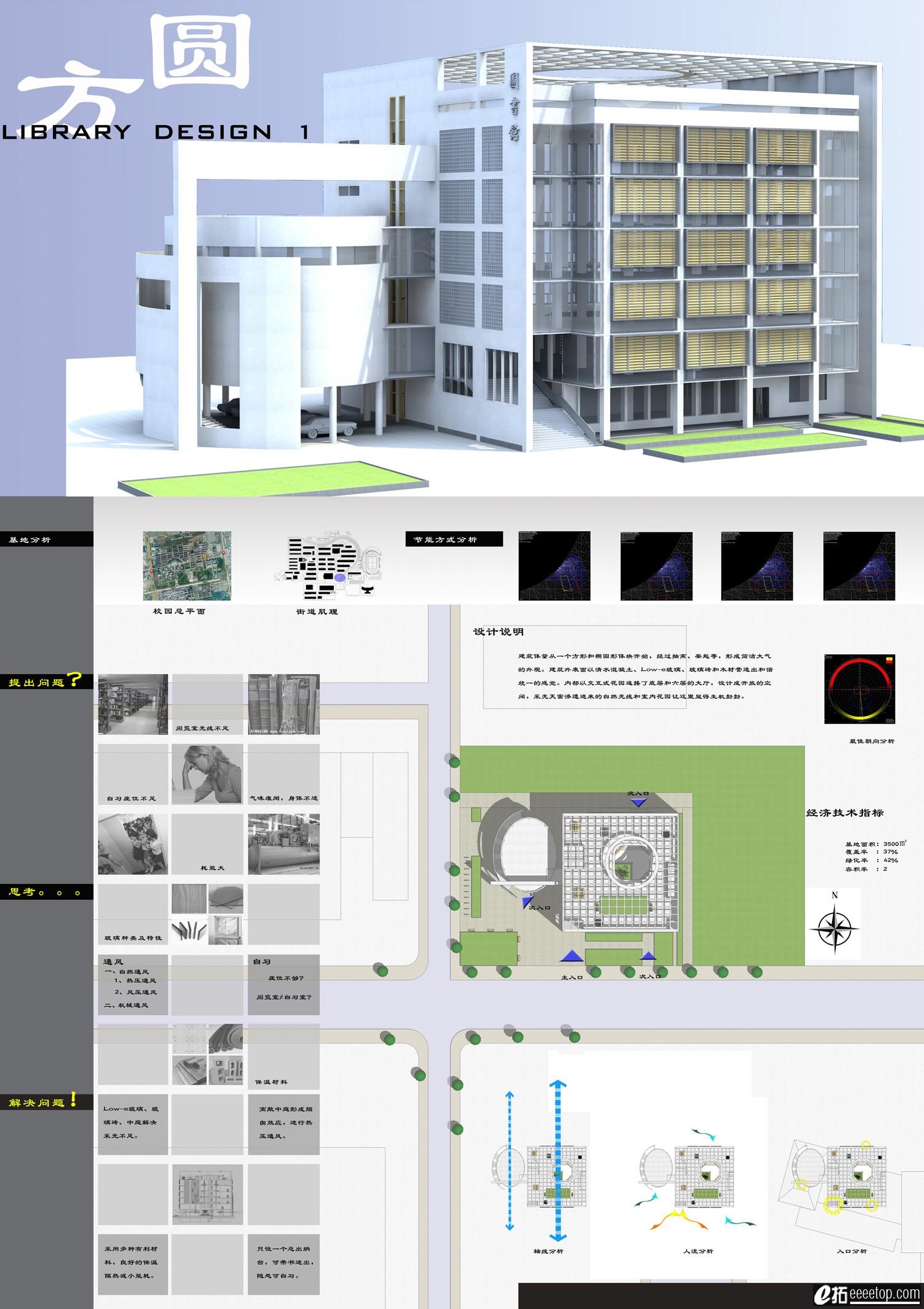 图书馆设计大设计-大学生作业广场-e拓建筑包装设计中的手绘元素图片