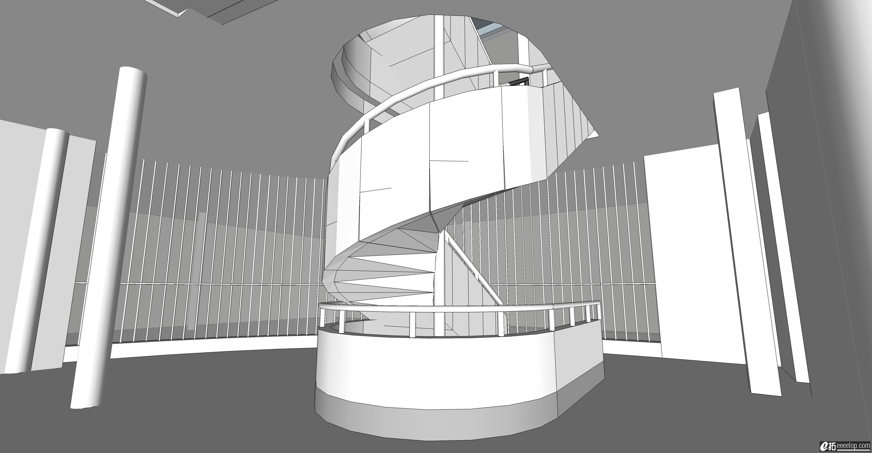 su如何建旋转楼梯