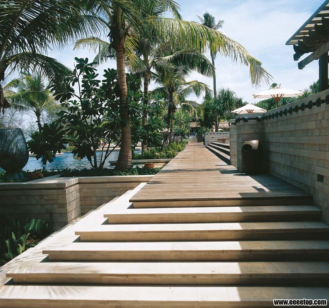 东南亚风格酒店建筑之一 3套案例