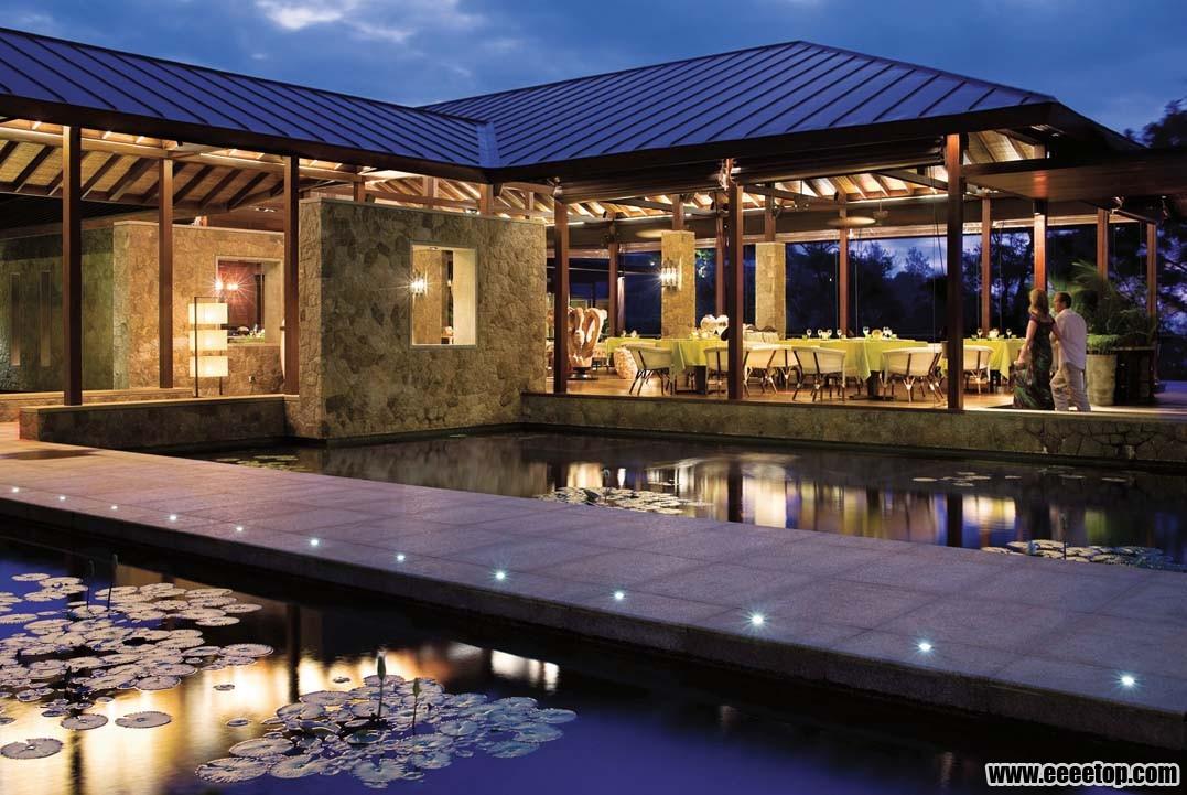 东南亚风格酒店建筑之二 4套案例