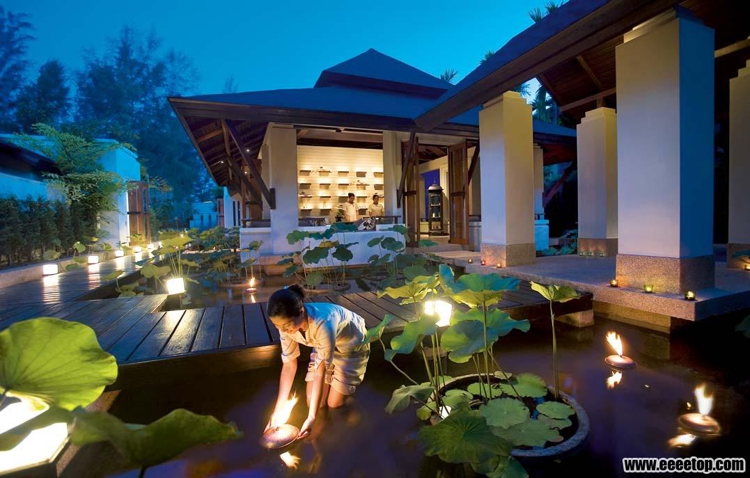 东南亚风格酒店建筑之三 3套案例