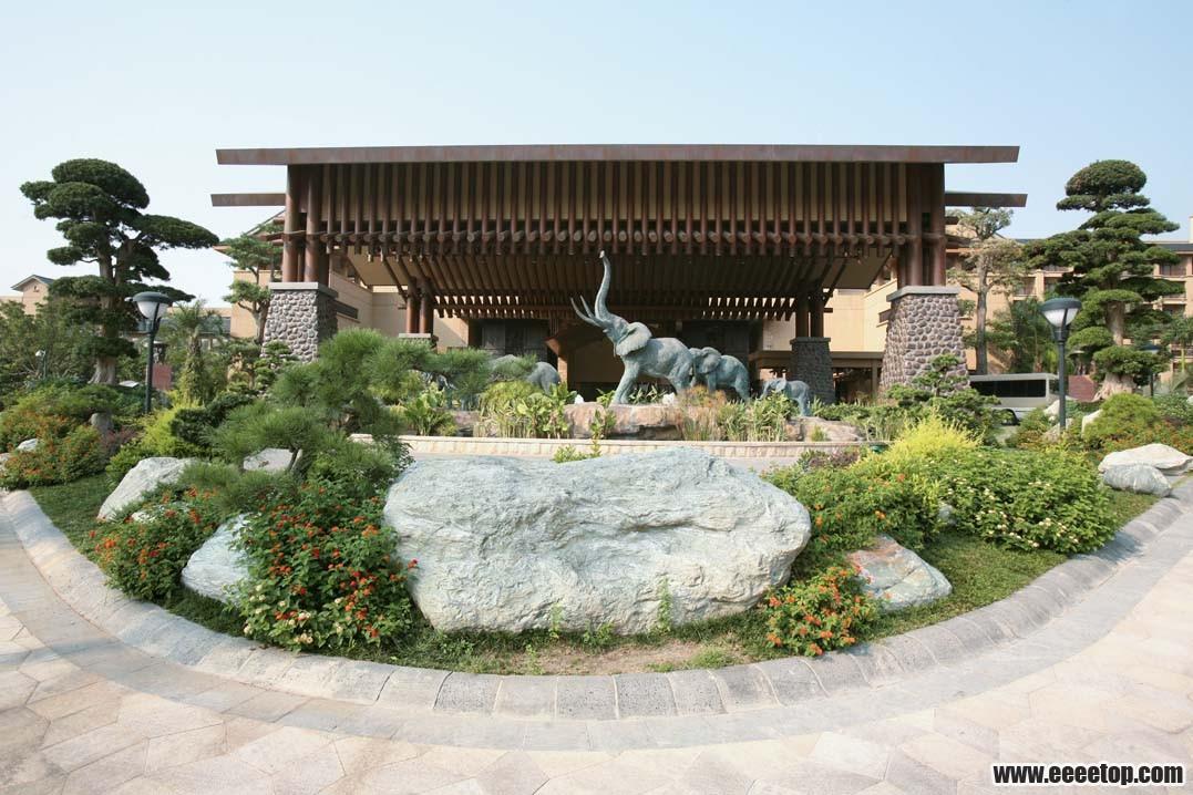 东南亚风格 酒店建筑之三 3套案例 建筑作品