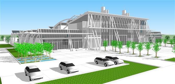 长途客运站设计 - 大学生设计广场