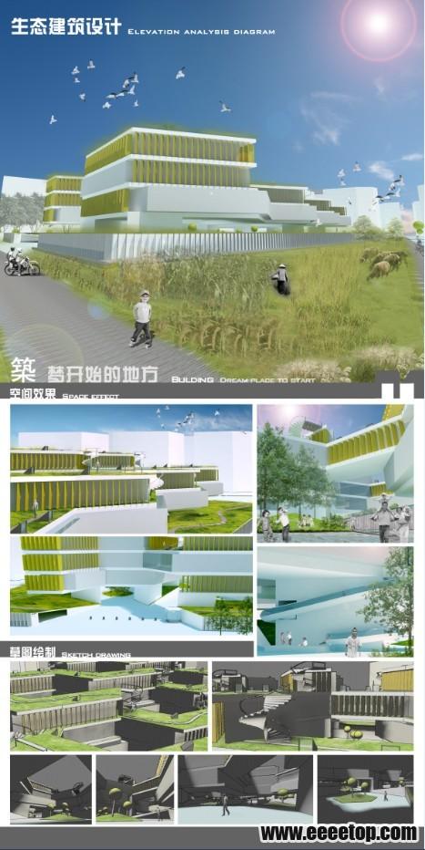 筑 梦开始的地方 生态化建筑设计