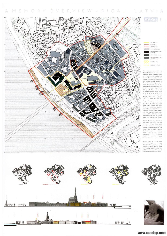 建筑学毕业设计排版国际style