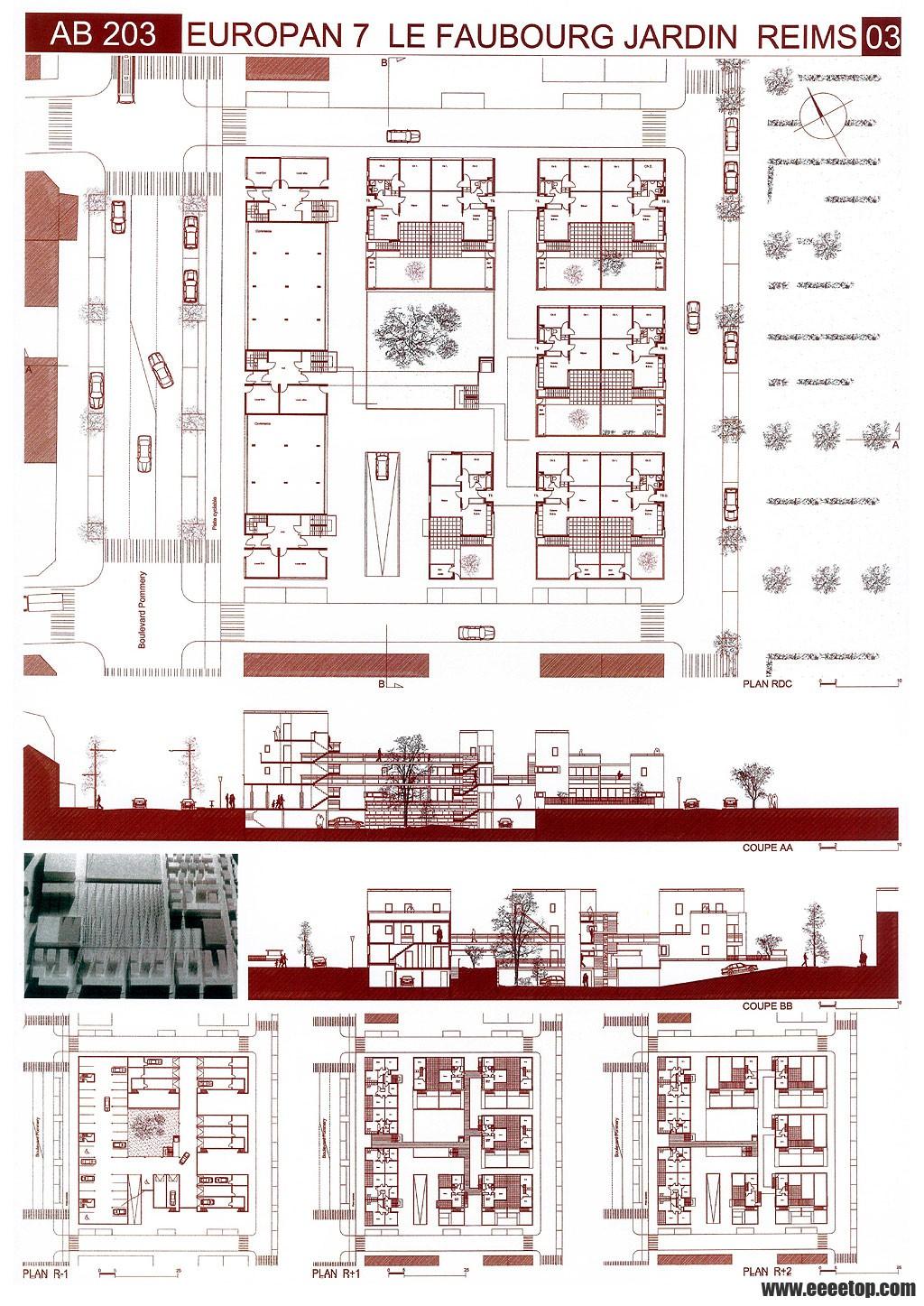 建筑学毕业设计排版国际style,大家可以下来看看