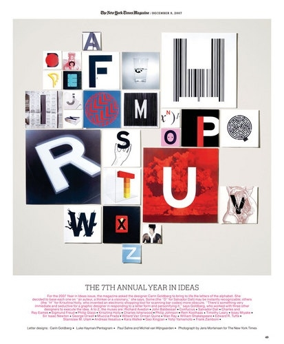 该死的排版——纽约时代时尚杂志获奖板面