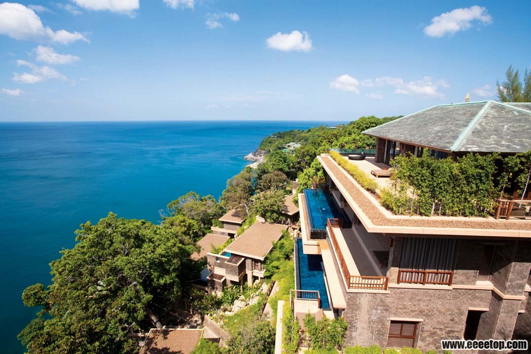 东南亚风格酒店建筑之四 5套案例