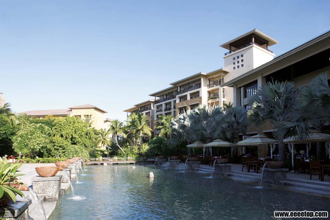 东南亚风格酒店建筑之六 5套案例