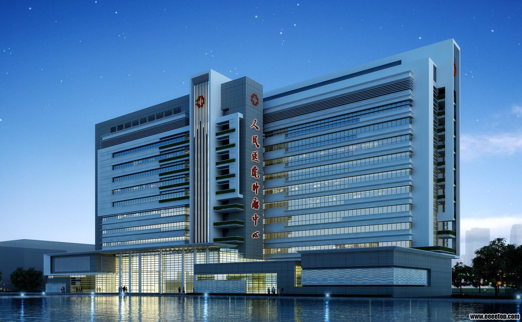 东莞市某医院建筑设计方案