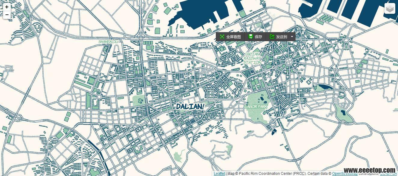 城市俯视图-有了Mapbox底图,分析图就有着落了,ALA强烈推荐