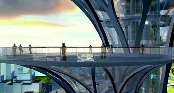 建筑设计研究院崔恺建筑设计工作室——bim瞭望塔