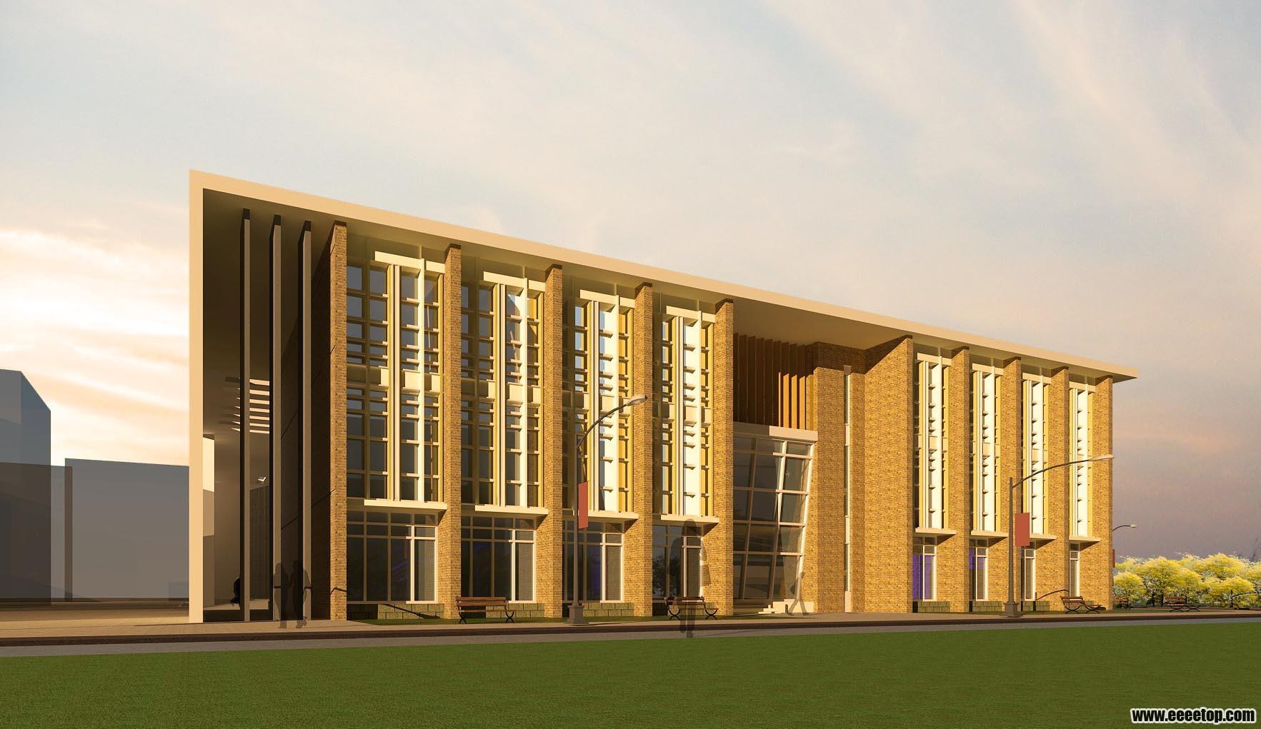 大三图书馆设计 - 大学生设计广场