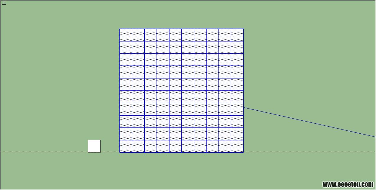 一个su制作桁架结构的教程!附模型!