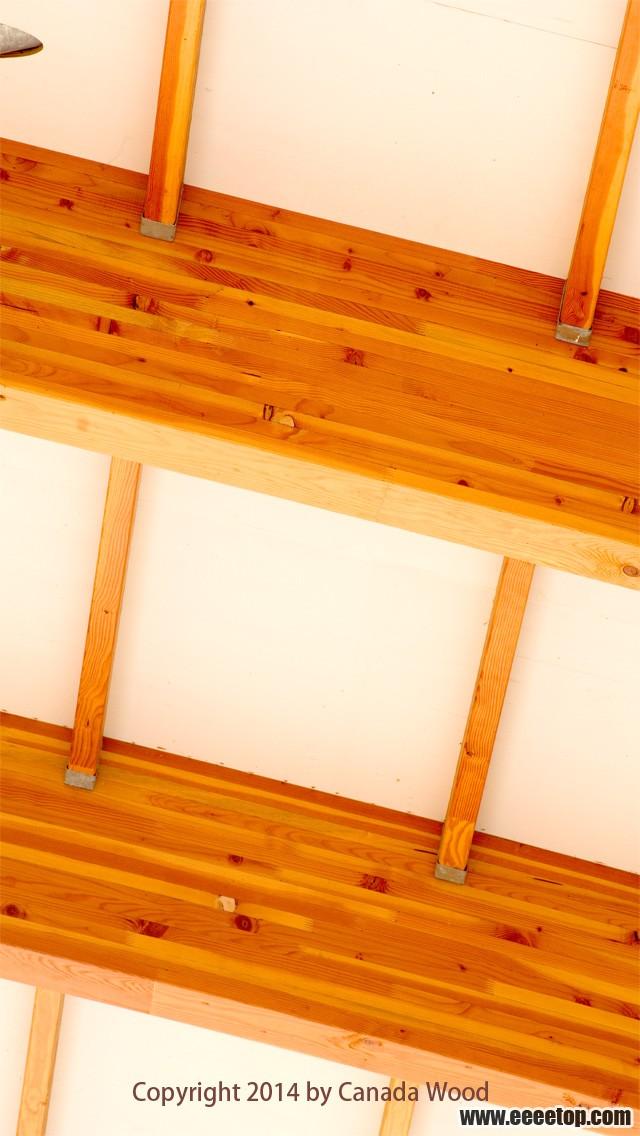 装点手机壁纸的唯美木结构图片
