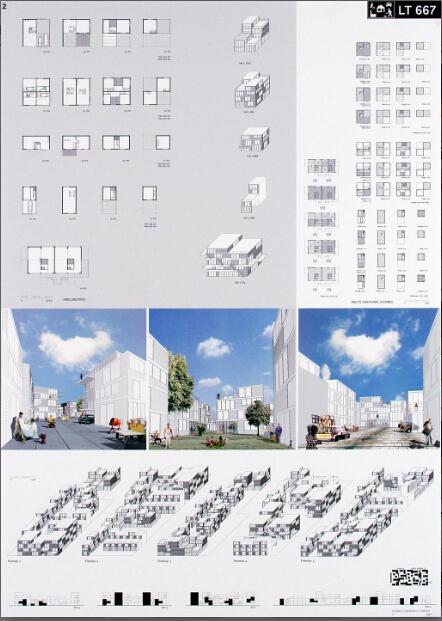 优秀建筑设计毕业作品展板排版设计