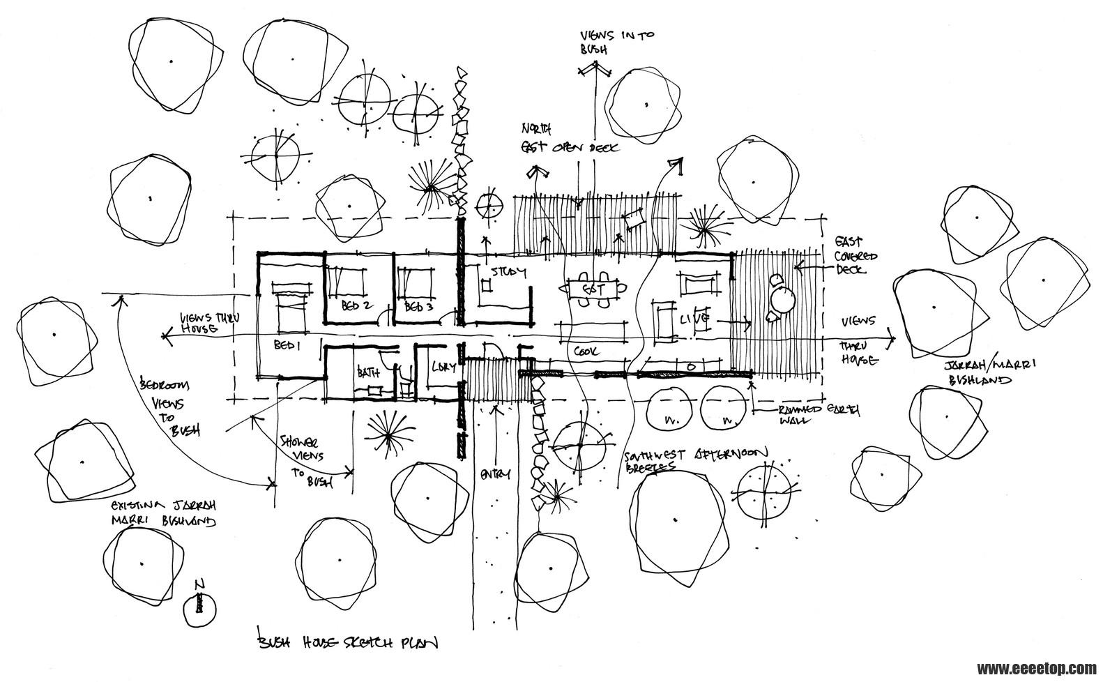 欧式屋顶花园平面图